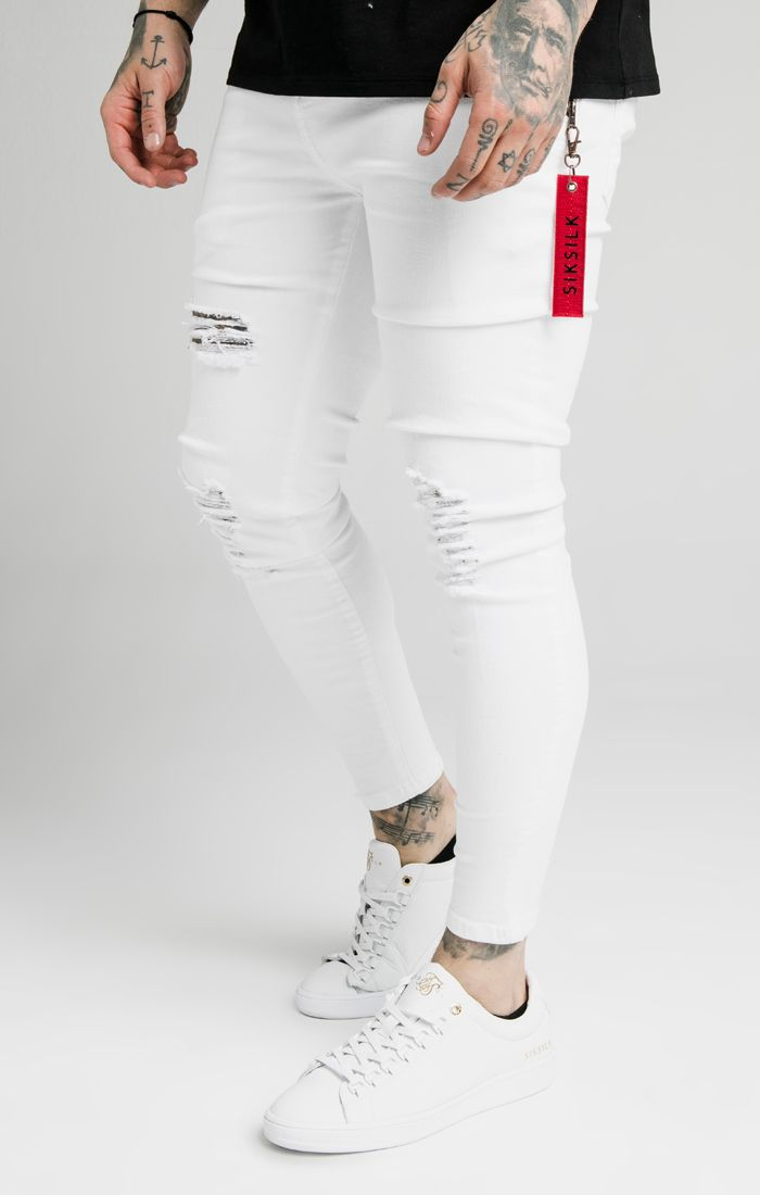 DISTRESSED FLIGHT DENIMS