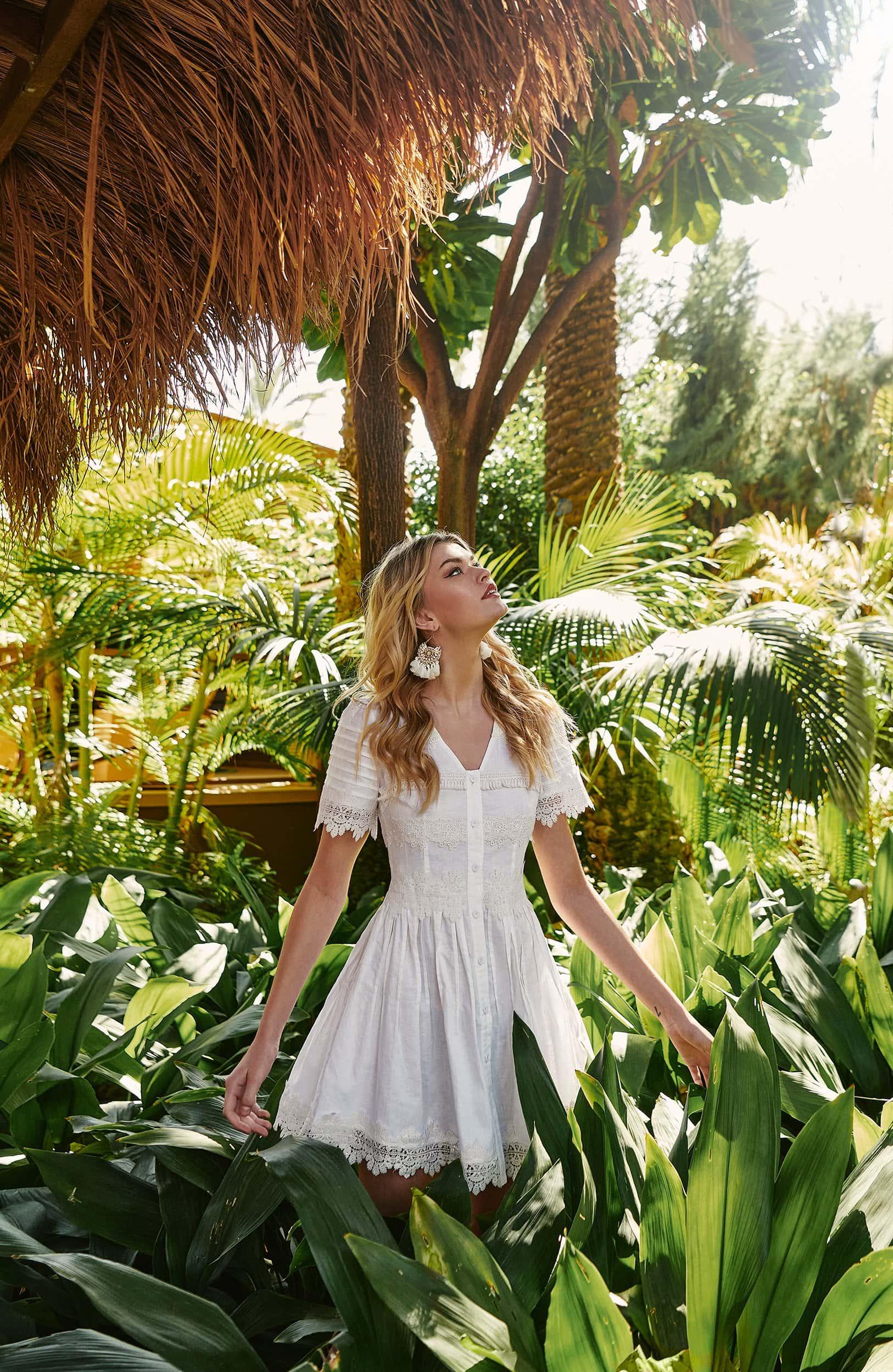 CRETA DRESS WHITE