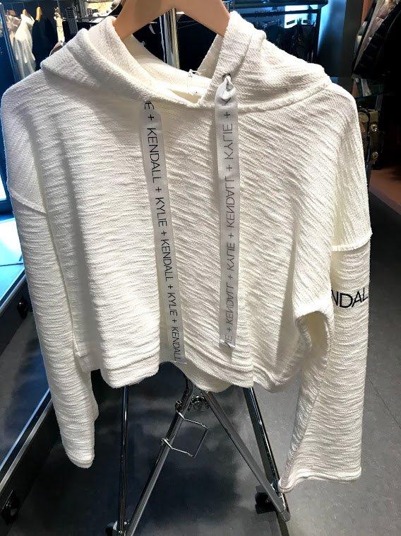 PURE WHITE hoodie