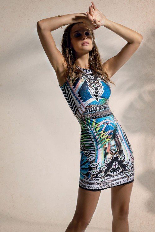 LITTLE HAVANA BODYCON DRESS