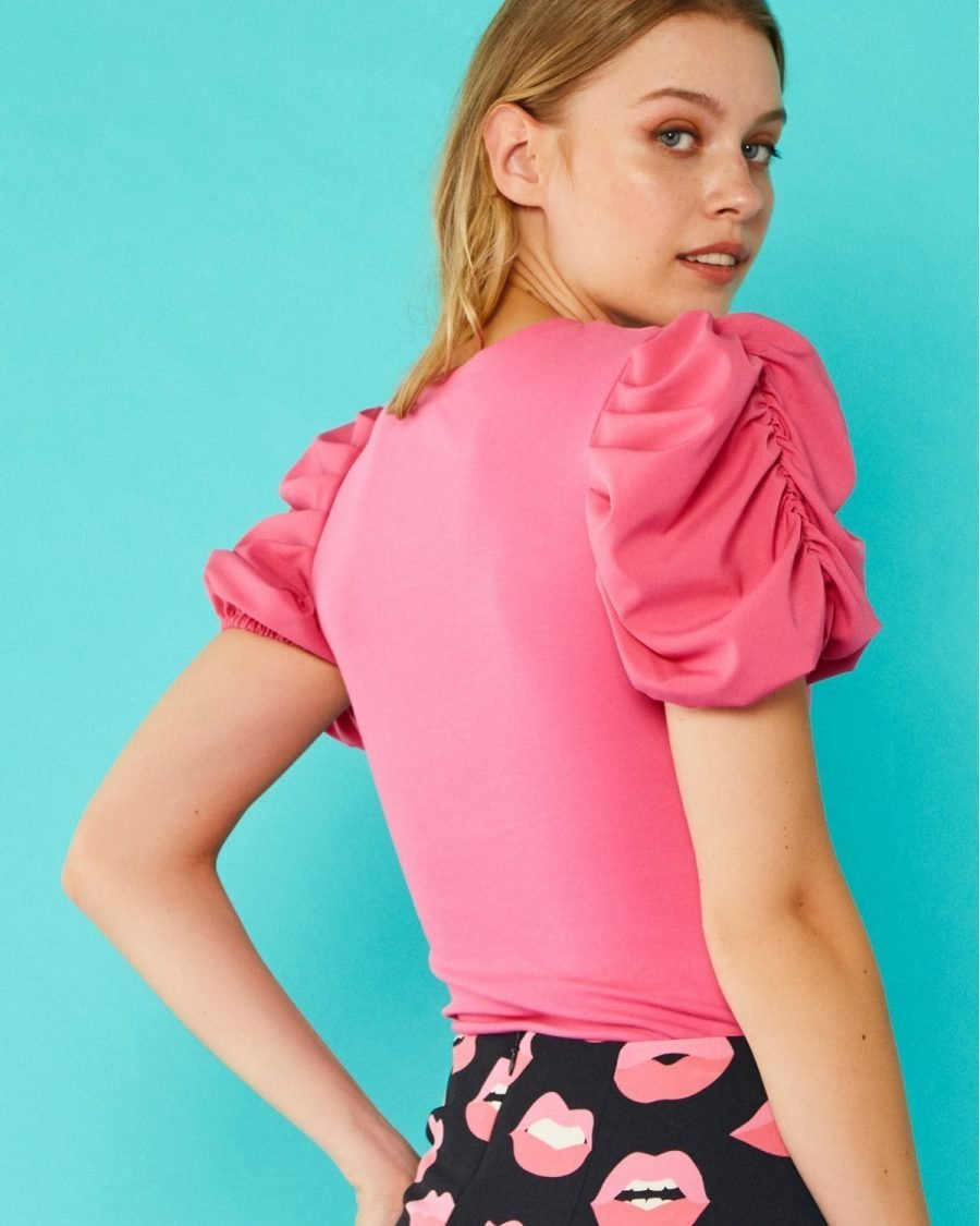 PINK VICKY TOP